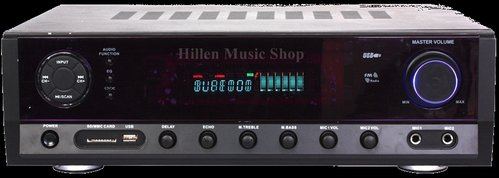 160 Watt Surround Receiver USB/SD MP3 Bluetooth FM Radio